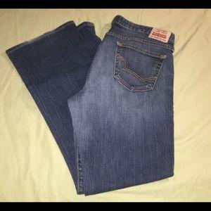 Big Star Lou Easy Boot Jeans Sz 31R (34x31)